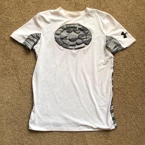 Baseball protective chest shirt